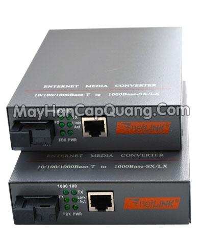 Bộ chuyển đổi quang điện media converter Netlink HTB-GS03 A/B